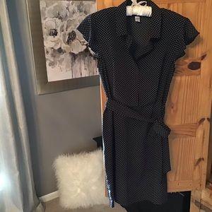 Rockabilly polka dot dress